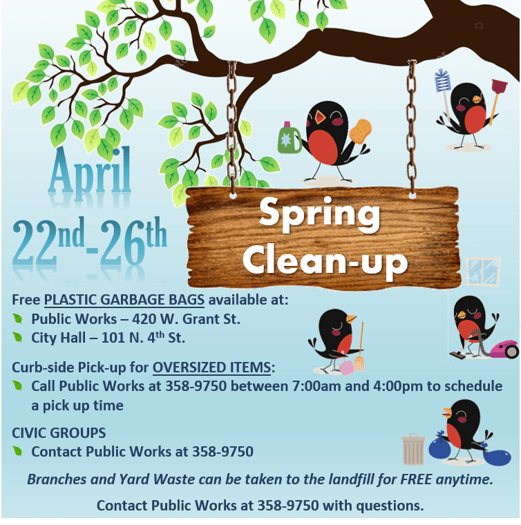 Spring Cleanup Week 2019 - FB Image Post
