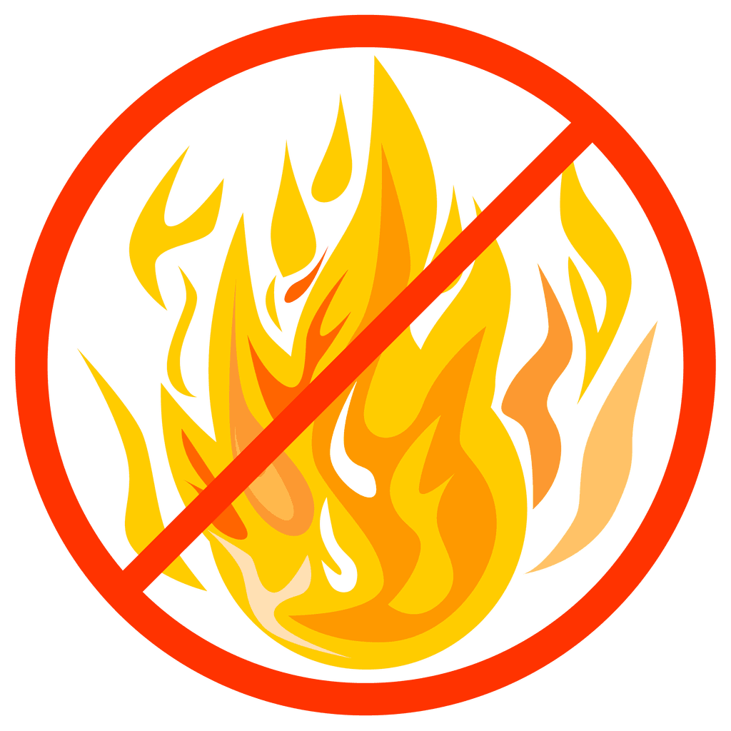 Fire Ban Graphic