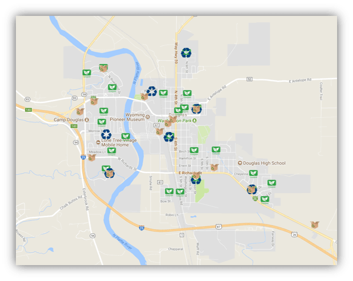 Recycling Map Capture