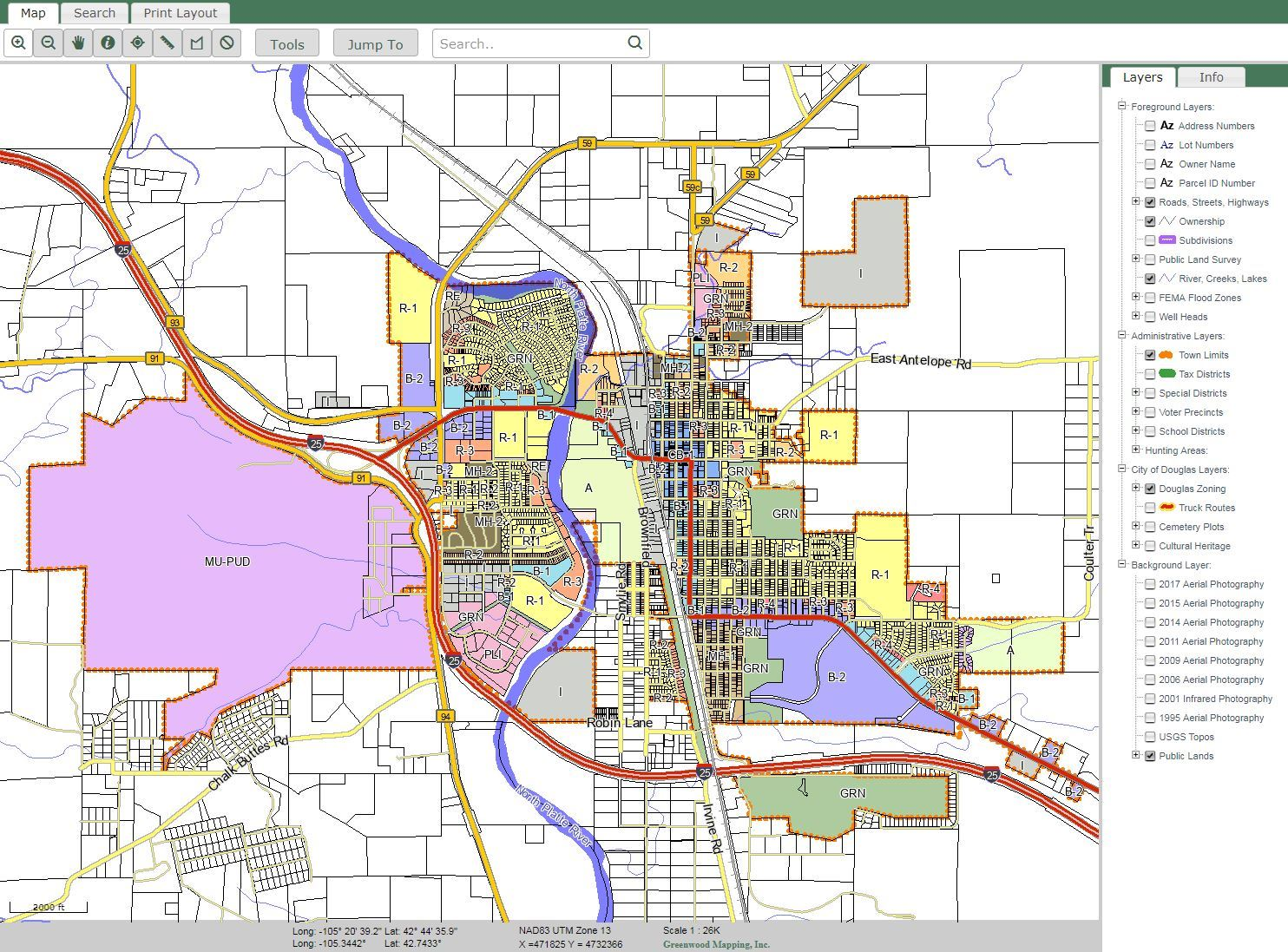 Maps | Douglas, WY - Official Website