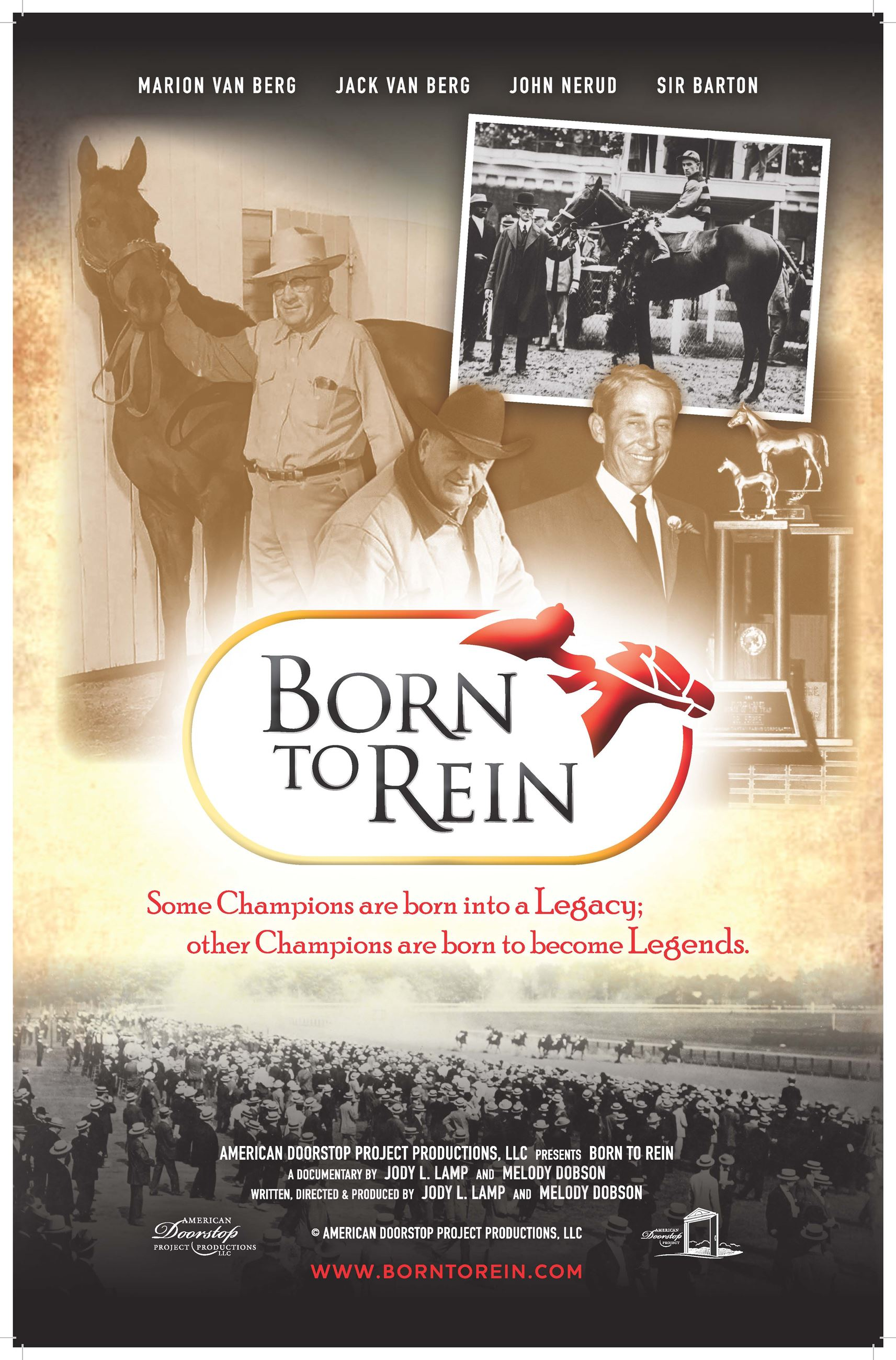 Born To Rein Poster