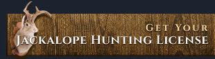 Get Your Jackalope Hunting License